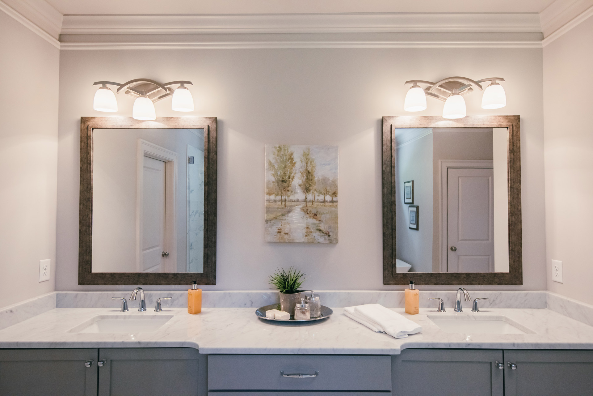 Best polished peach occupied staging Atlanta