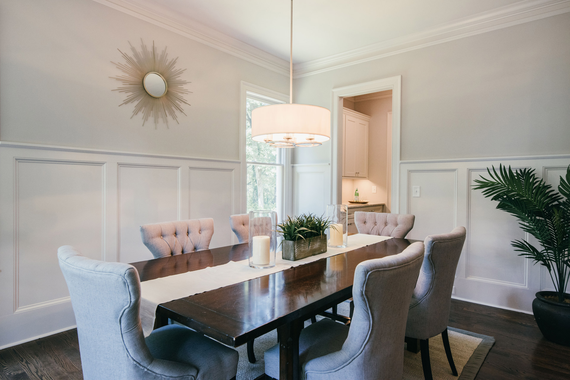 Occupied Home Staging in Atlanta | Dining_Room