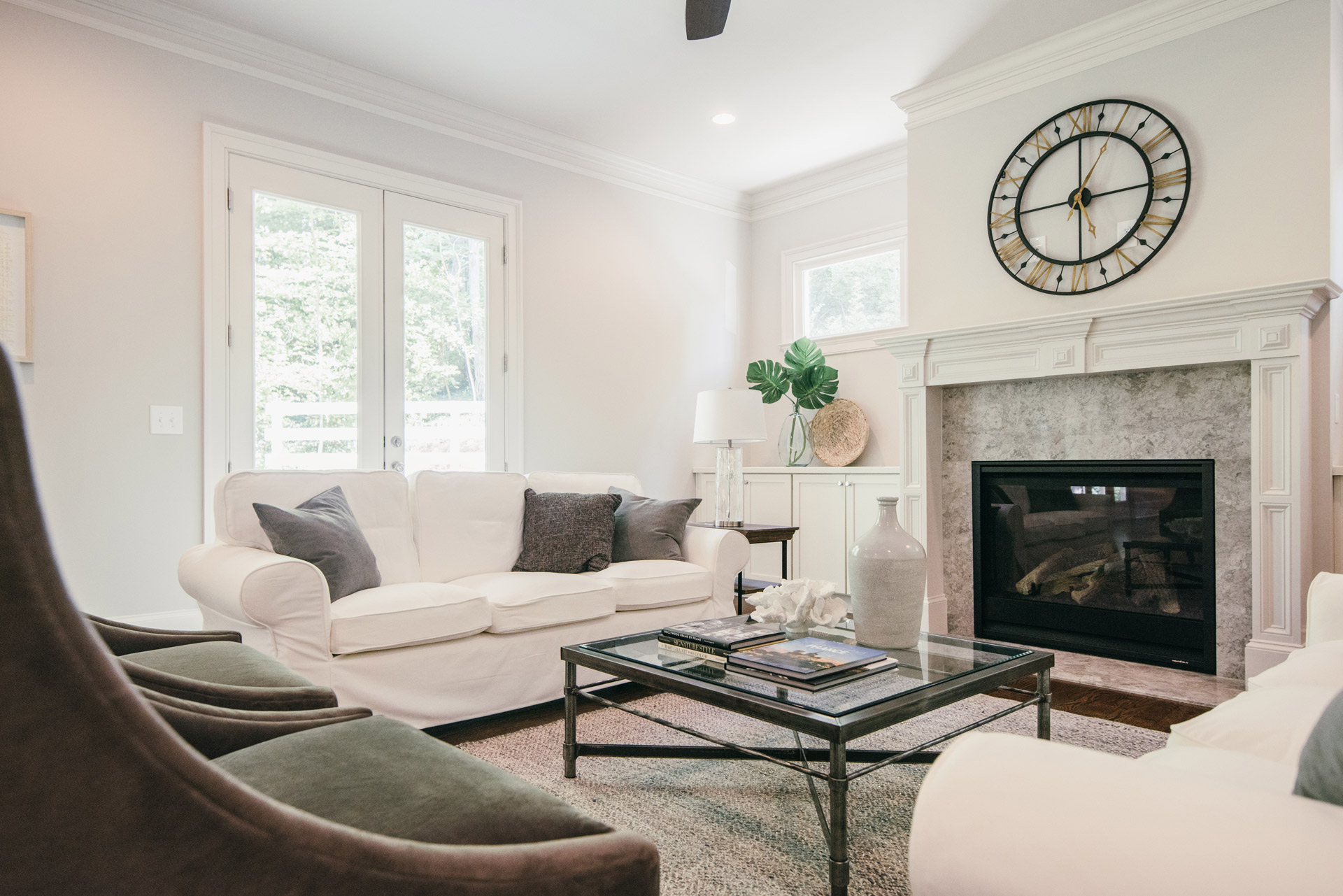 Occupied Home Staging in Atlanta | Living_Room
