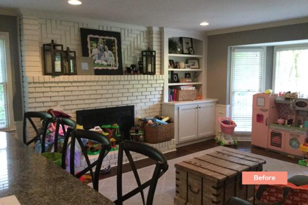 Longlake Dr Living room 2 Before - Occupied