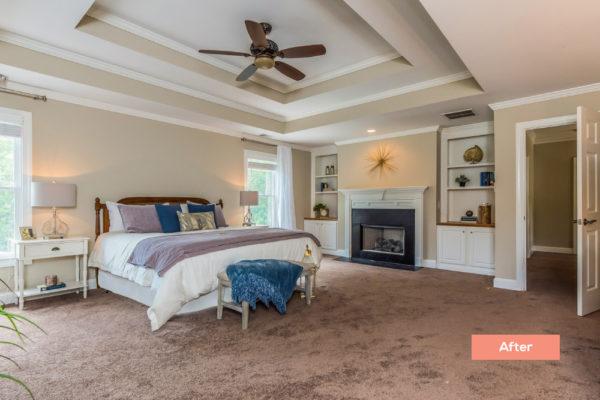 Taylor Glan Bedroom After - Occupied