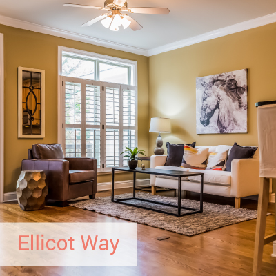 Ellicot Way | Best Home Staging in Atlanta