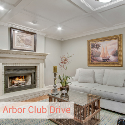 arbor | Best polished peach vacant home staging Brookhaven
