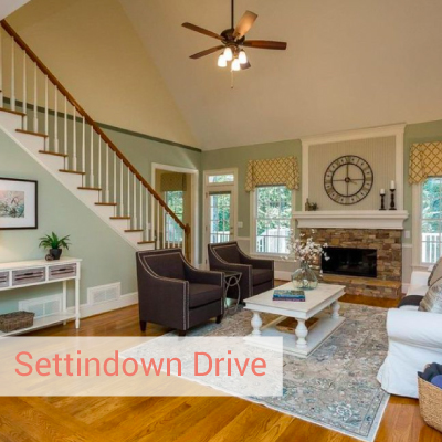 settindown | Best polished peach vacant home staging Brookhaven