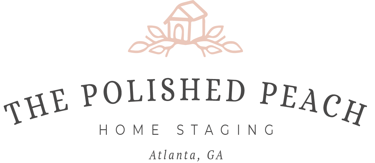 The Polished Peach Logo